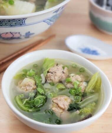 Instant Pot Low Carb Wonton Soup